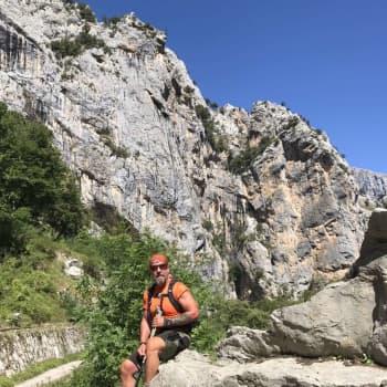 En annorlunda resa än planerat – Borgåbon Björn Roos lämnade allt för att åka ut i världen