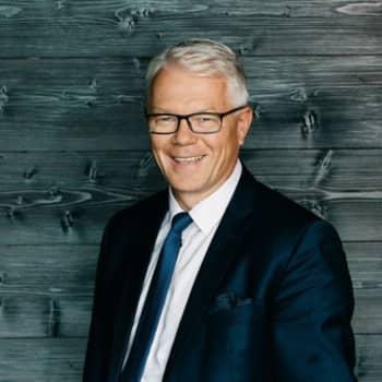 Elämän juhlava puoli: Talousjohtaja Pekka Pajamo