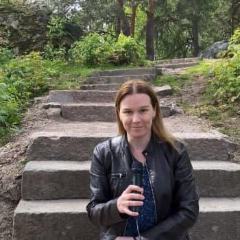 Näsebacken i Borgå får förnyade trappor och stigar - vi besöker området