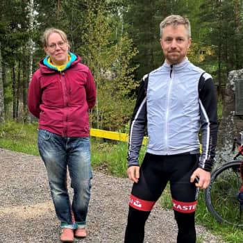 Suositulla pyöräilyreitillä osa autoilijosta tekee hengenvaarallista kiusaa pyöräilijöille