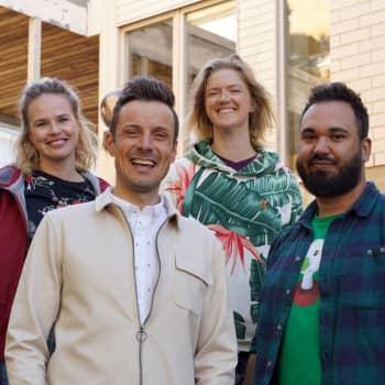 BUU-klubben spelade in tv-program i Raseborg