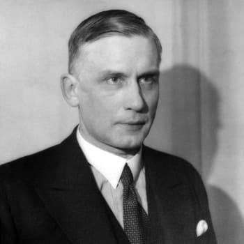 Pääministeri Edwin Linkomies puhuu (1944)
