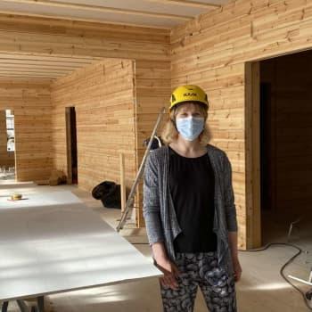 Kiepin rakennustyöt etenevät - museorakennukset valmiita marraskuussa, auki ensi keväänä