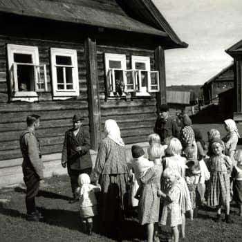 Aunuksen karjalainen talo (1941)