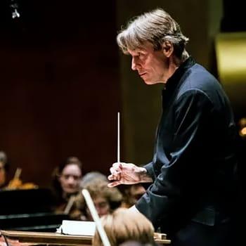Philharmoniaorkestern tar farväl av Esa-Pekka Salonen
