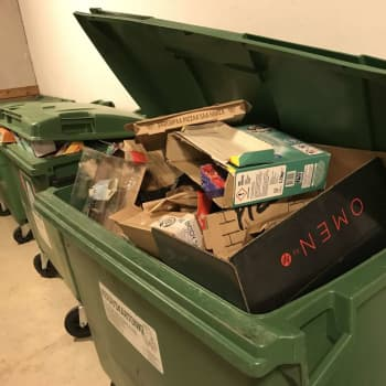 Uudet jätehuoltomääräykset pakottavat myös pienet taloyhtiöt kierrättämään