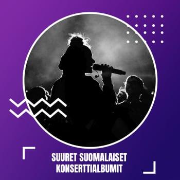 Suuret suomalaiset konserttialbumit