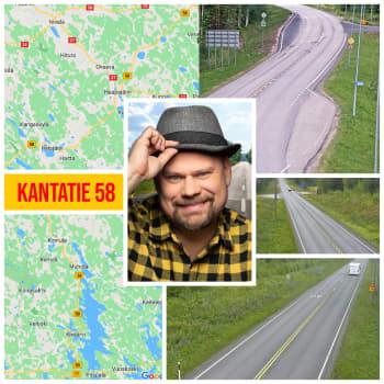 Kantatie 58 -  Frankensteinin hirviöllä halki Suomen