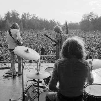 Blue Mink Ruisrockissa 22.8.1970