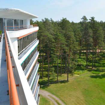 En rundvandring i Pemars sanatorium – funkispärlan som blev arkitektparet Alvar och Aino Aaltos genombrott