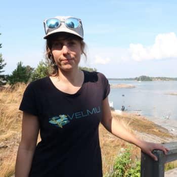 Laura Kauppi vill veta hur havet reagerar då vattnet blir varmare