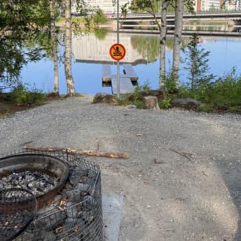 Kuuntele, miksi Kajaanin Limppusaaressa ei saa uida?