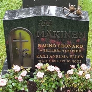 Kultamitalipainija Rauno Mäkinen