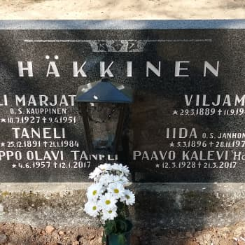 """Nopeuslaskija Kalevi """"Häkä"""" Häkkinen"""