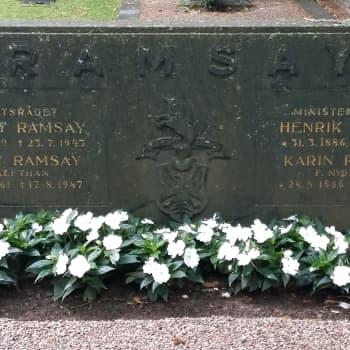 Henrik Ramsay - isänmaan ruorimies