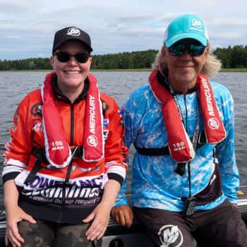 Milla Linden blev fascinerad av fiske av en slump