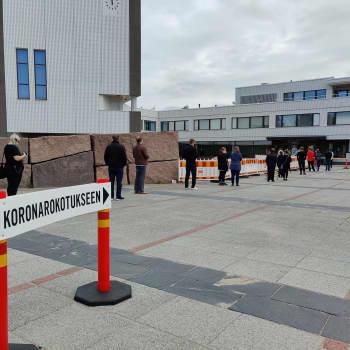 Onko Rovaniemellä erityisen paljon rokotevastaisia nuoria?
