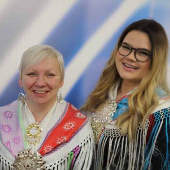 Pinja Pieski: Sápmi Pride álgá odne, Kárášjogas ohcagoahtet minerálaid, Kaamanen kylägalleria