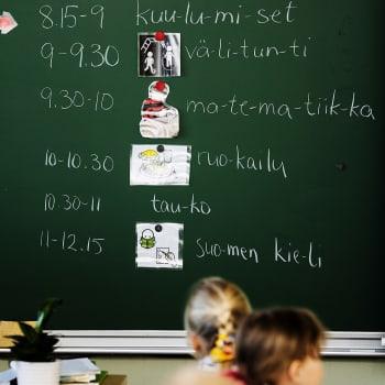 Miten uusi lukuvuosi alkaa kouluissa?