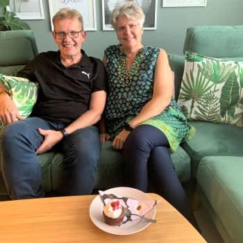 Ann-Charlotte och Thomas Grönlunds gemensamma viktresa resulterade i en bok