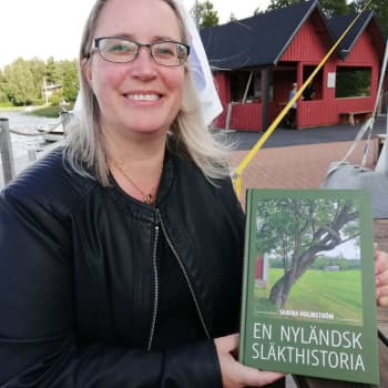 Sabina Holmström skrev En nyländsk släkthistoria