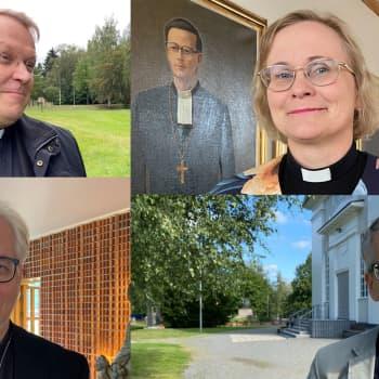 Tutustu Lapuan hiippakunnan piispaehdokkaisiin