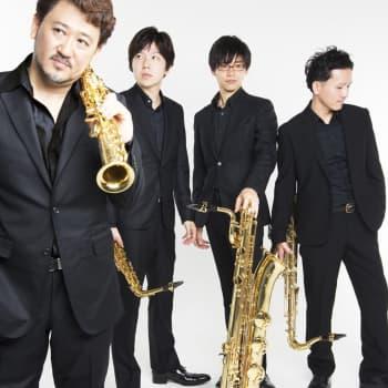 The Blue Aurora Saxophone Quartet