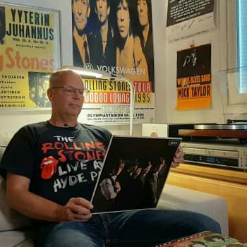 Jan Richardssonin 30 vuoden keräilytyö poiki yhden maailman kattavimmista Rolling Stones vinyylikokoelmista