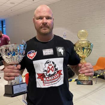 Mikko Annala voitti MM-kultaa kotiyleisön edessä