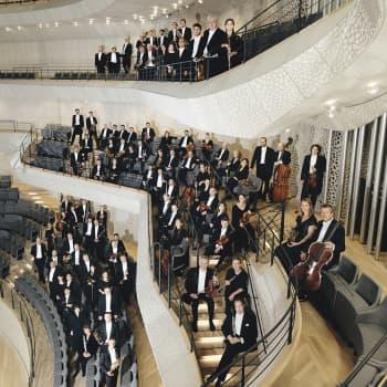Nordtyska radions filharmoniska orkester i Elbphilharmonie, dir. Carlos Miguel Prieto