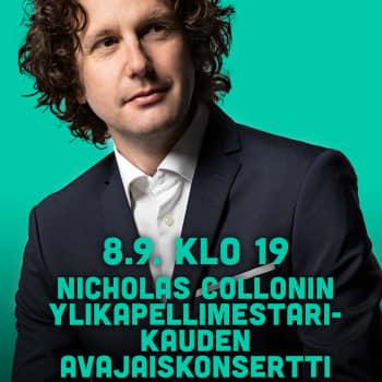 Nicholas Collonin RSO:n ylikapellimestarikauden avajaiskonsertti