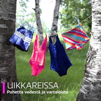 Uikkareissa: Johanna Vuoksenmaa – Pulahdus järveen on elämän välitunti