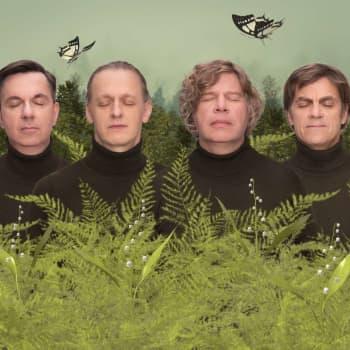 Sam Huber & Co är aktuella med det nya musikprojektet Elliot's Crazy Compass - nu släpper de sitt första album