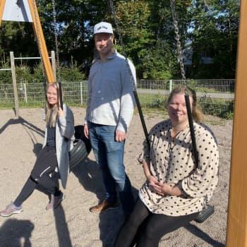 Vid daghemmet Aleksandra i Vichtis skapar svenskspråkiga föräldrar sina nätverk
