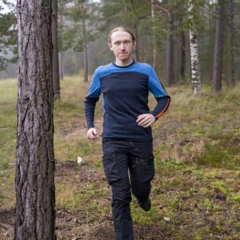 Hangöbon Jonathan Kontkanen drömmer om att löpa 160 kilometer i ett sträck