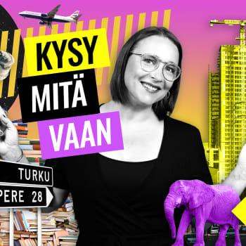 Kysy mitä vaan radiojuontaja Olga Ketonen: Vieläkö suorat lähetykset jännittää?