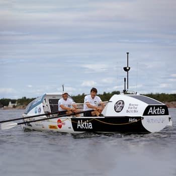 Markus Mustelin ja Jolle Blässar valmistautuvat suureen koitokseen – soutamaan yli Atlantin