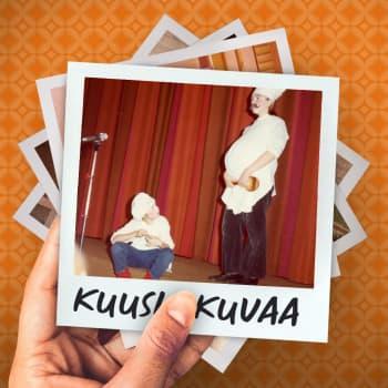 Kuusi kuvaa kääntäjä Ville Keynäksen elämästä