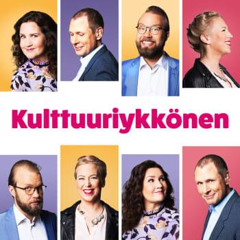 Kisastudiossa Koiviston muistomerkki, Niinistöjen Osku-koira, punavihreän hallituksen kulttuuriasenne ja englanninkieli Suomeen