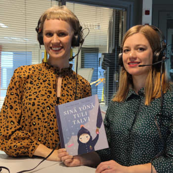 Radio Suomi Oulu: Botnia-kirjallisuuspalkinnon voittajat Anna Elina Isoaro ja Mira Mallius juhlivat lastenkirjallisuuden voittoa