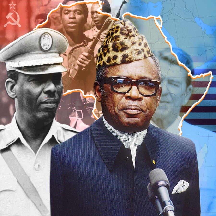 Kylmä sota piti valtavan Kongon kasassa