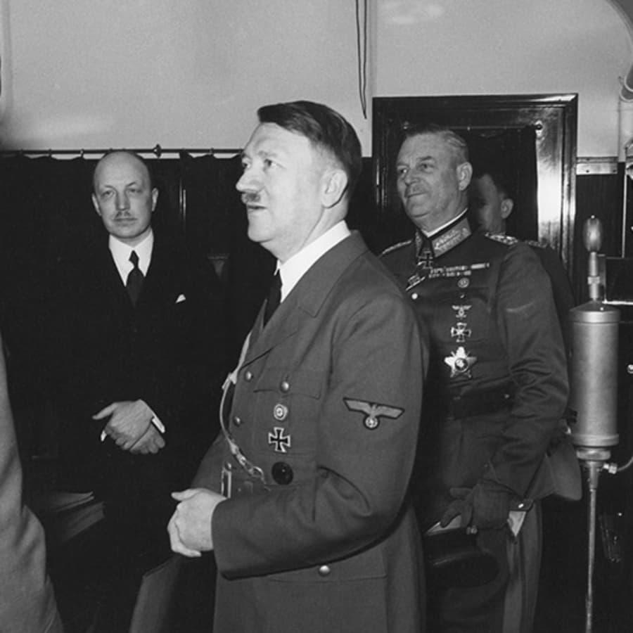 Hitlerin syntymäpäiväonnittelut Mannerheimille