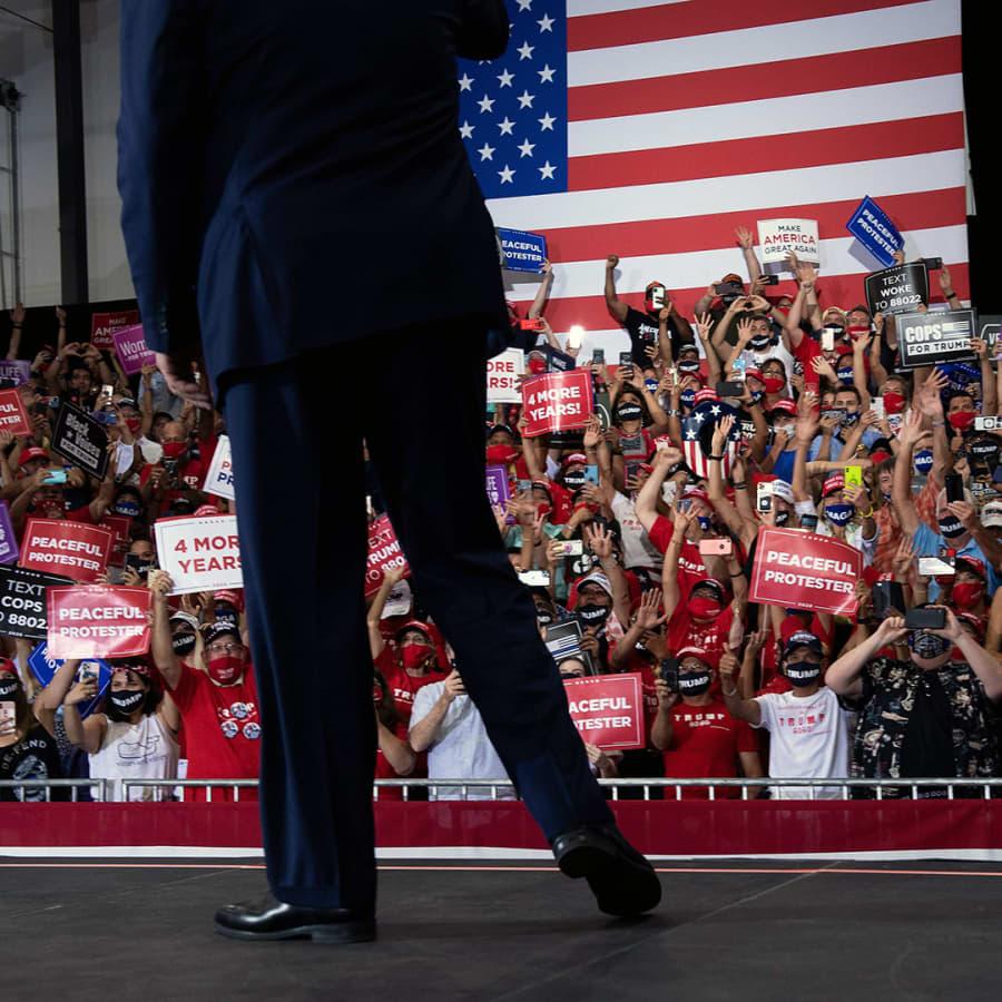 Republikaanit käyvät vaaleihin Trumpin puolueena