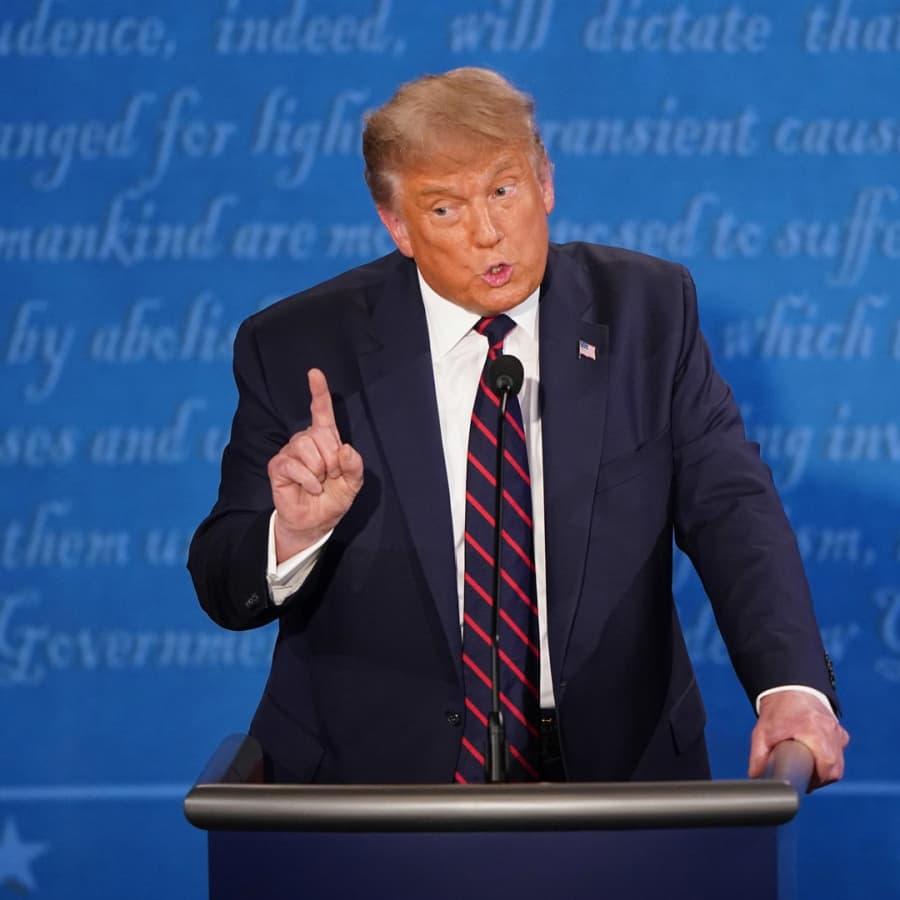 Kaikkien aikojen sekavin vaaliväittely? Donald Trump ja Joe Biden kohtasivat USA:n presidentinvaalitentissä