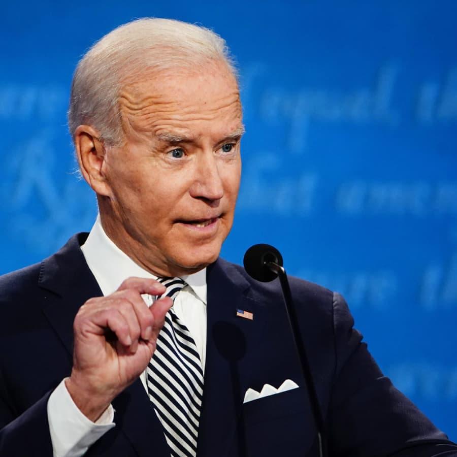 Presidentkandidaten Joe Biden kritiserar Belarus president