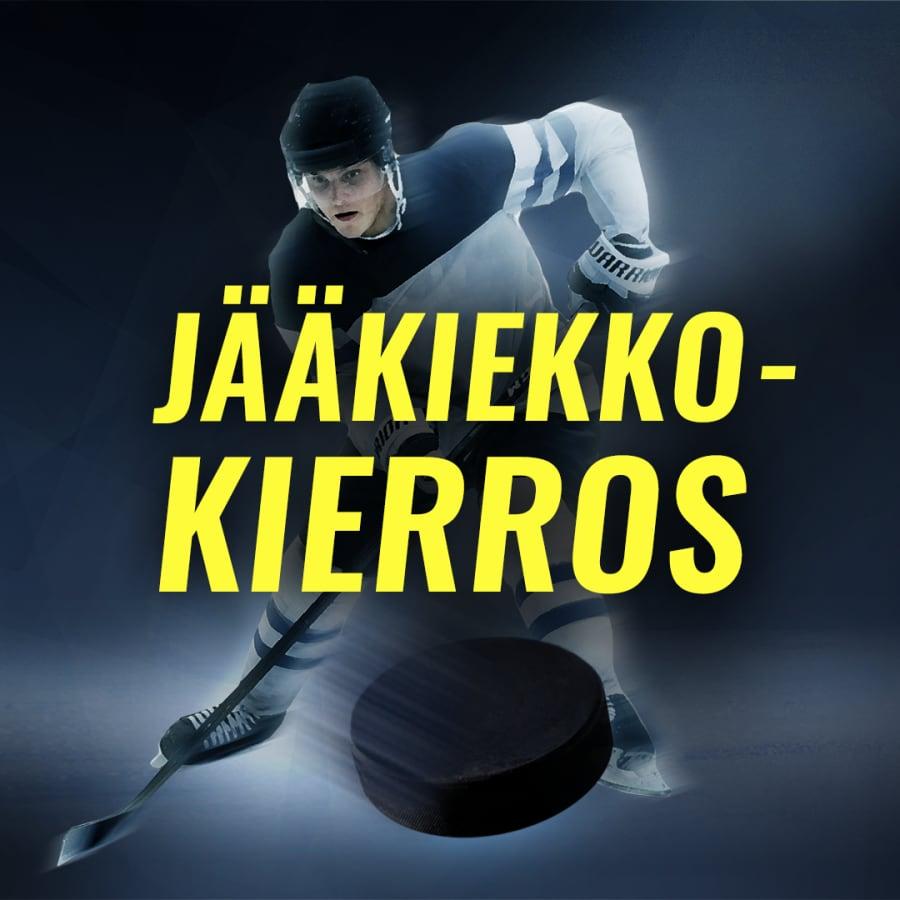 Ilves-Sport, JYP-Ässät, KalPa-HPK, Lukko-TPS, Pelicans-KooKoo, SaiPa-Kärpät. Naisten joukkuemäki HS106. Rovaniemen MM-ralli EK2