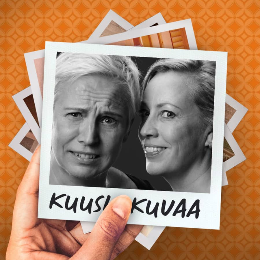 Kuusi kuvaa näyttelijä Mari Turusen elämästä