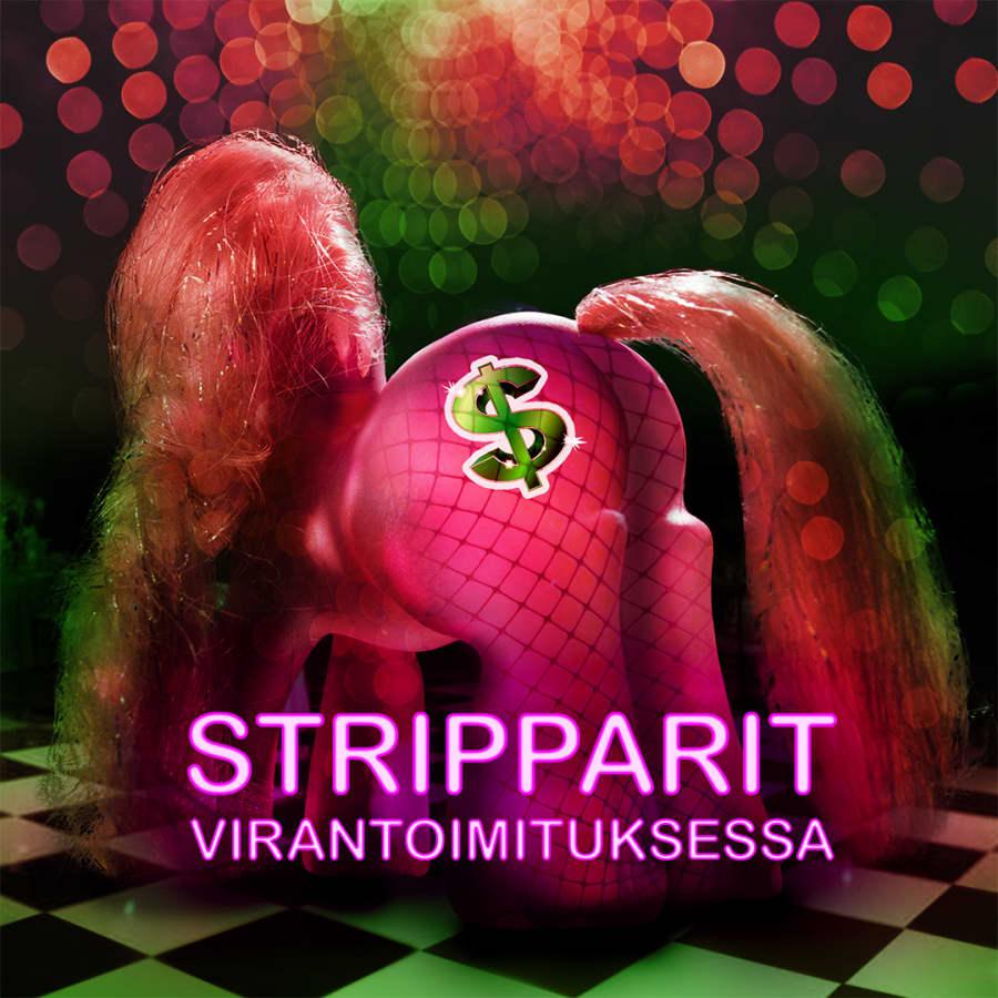 Stripparit virantoimituksessa