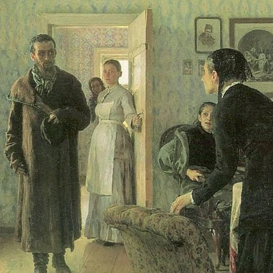 Ilja Repinin psykologinen taituruus näkyy niin poliittisissa maalauksissa kuin muotokuvissa
