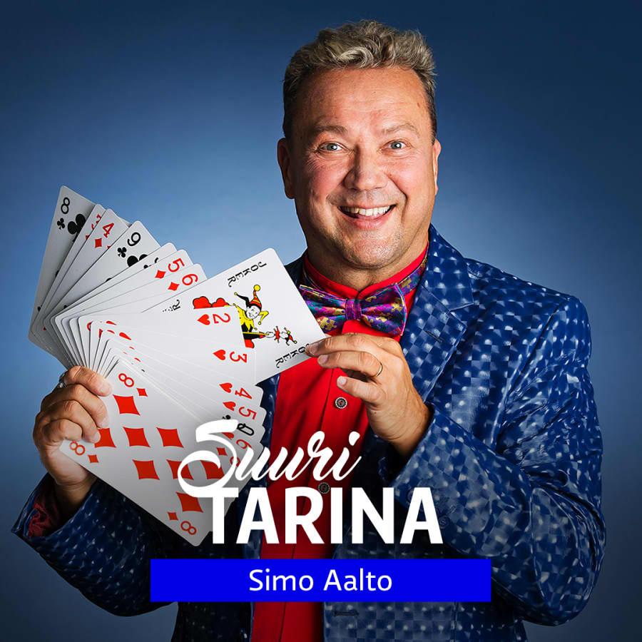 Suuri tarina: JokeriPokeriBox - taikuri Simo Aalto